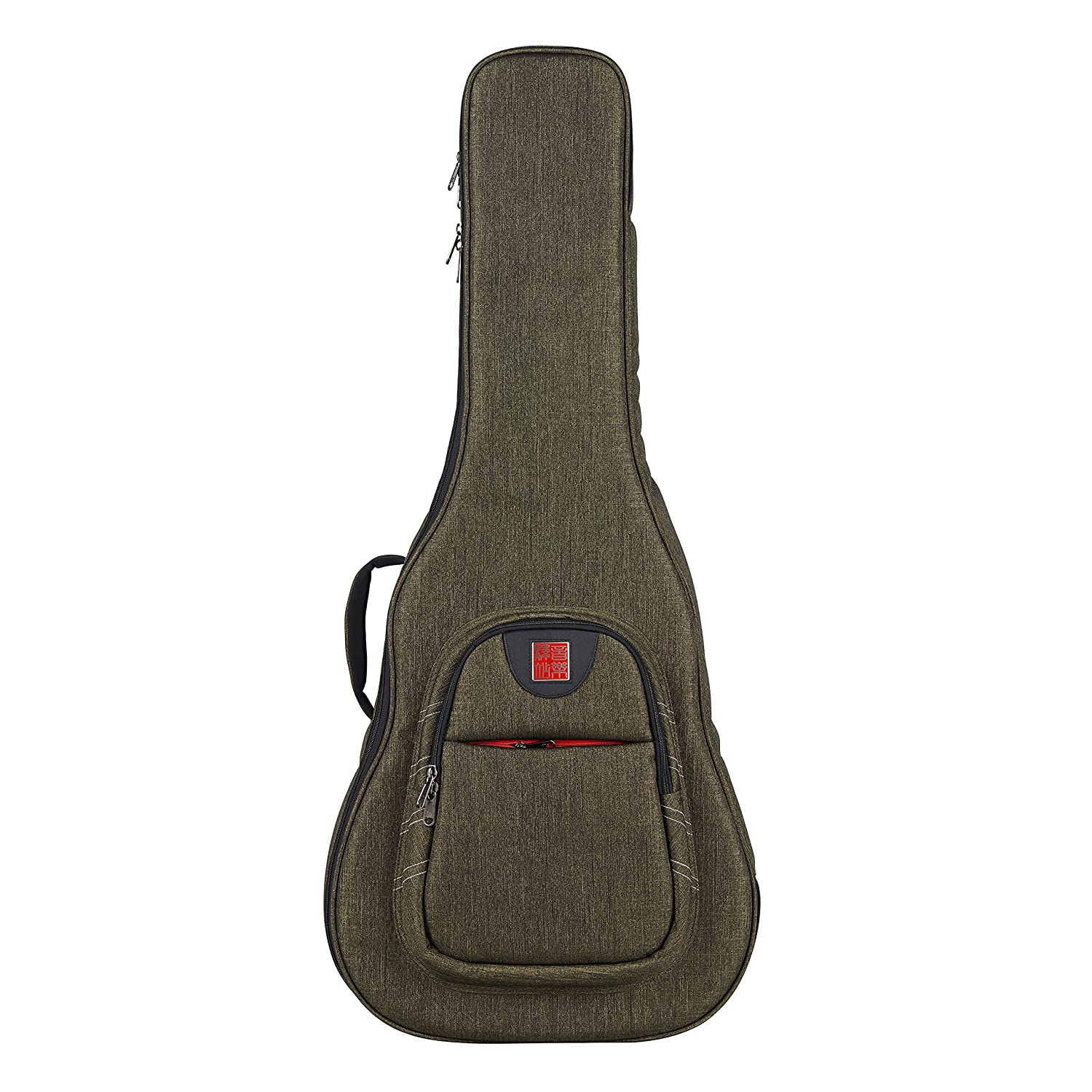 3718b80c1ee Music Area WIND20 Electric Guitar Gig Bag Waterproof with 30mm cushion  protection - Green Ruby Industrial