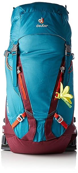 Deuter Guide 30+ SL Mochila, Unisex adultos, Verde (Petrol/Blackberry): Amazon.es: Deportes y aire libre