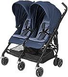 MAXI COSI Dana for 2 Newborn Double Stroller, Nomad Blue