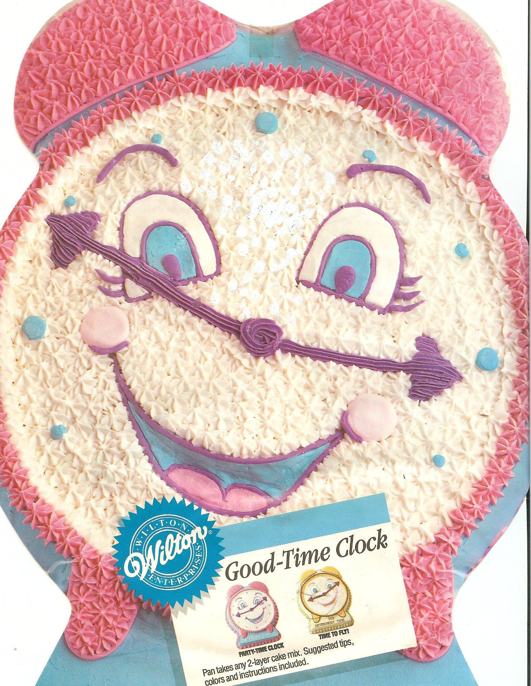 Wilton Good Time Clock Disney Beauty and Beast Cake Pan (2105-9111, 1991)