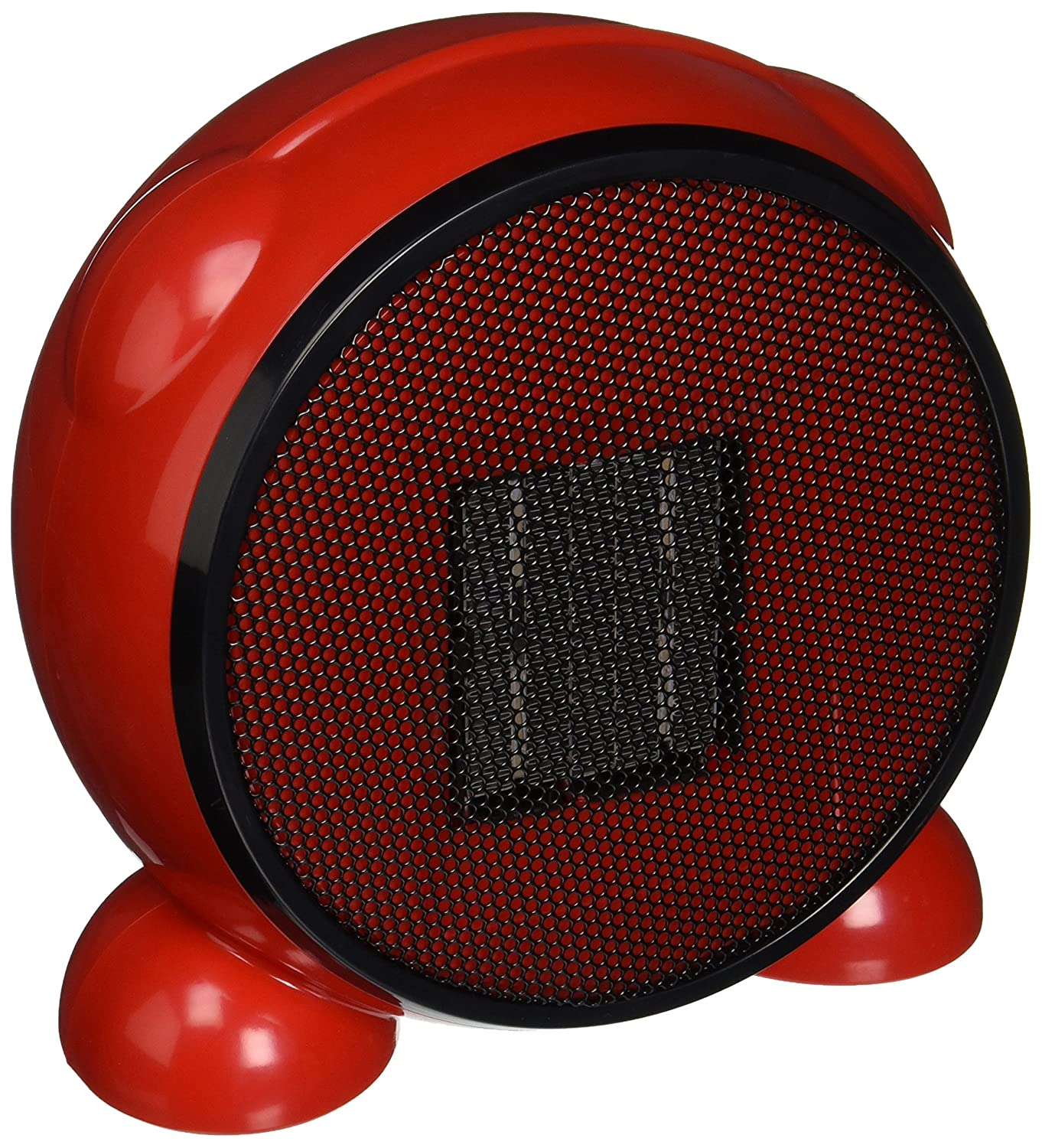 e-joy LEDMart Portable Space/Desktop Heater, Red