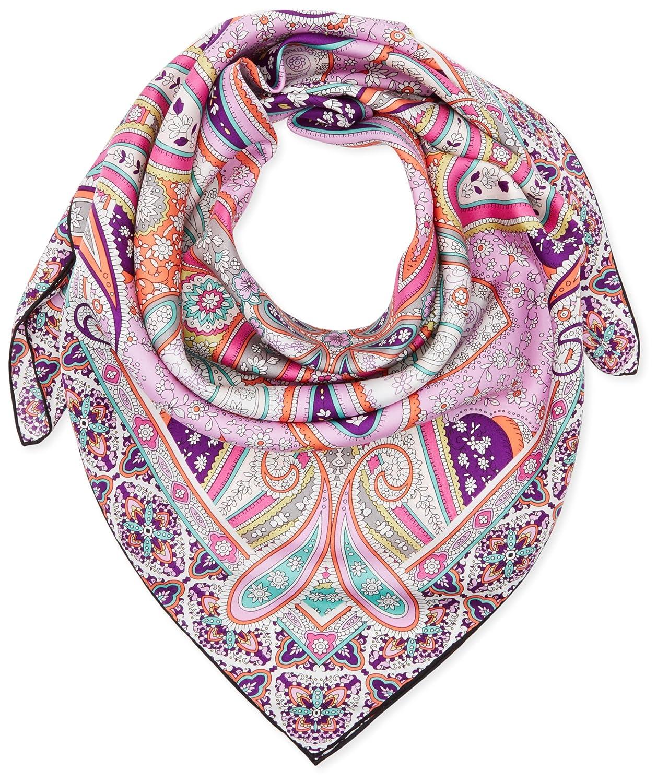Codello Damen Schal 71022901, Violett (Lilac 16), One size (Herstellergröße:90x90cm)