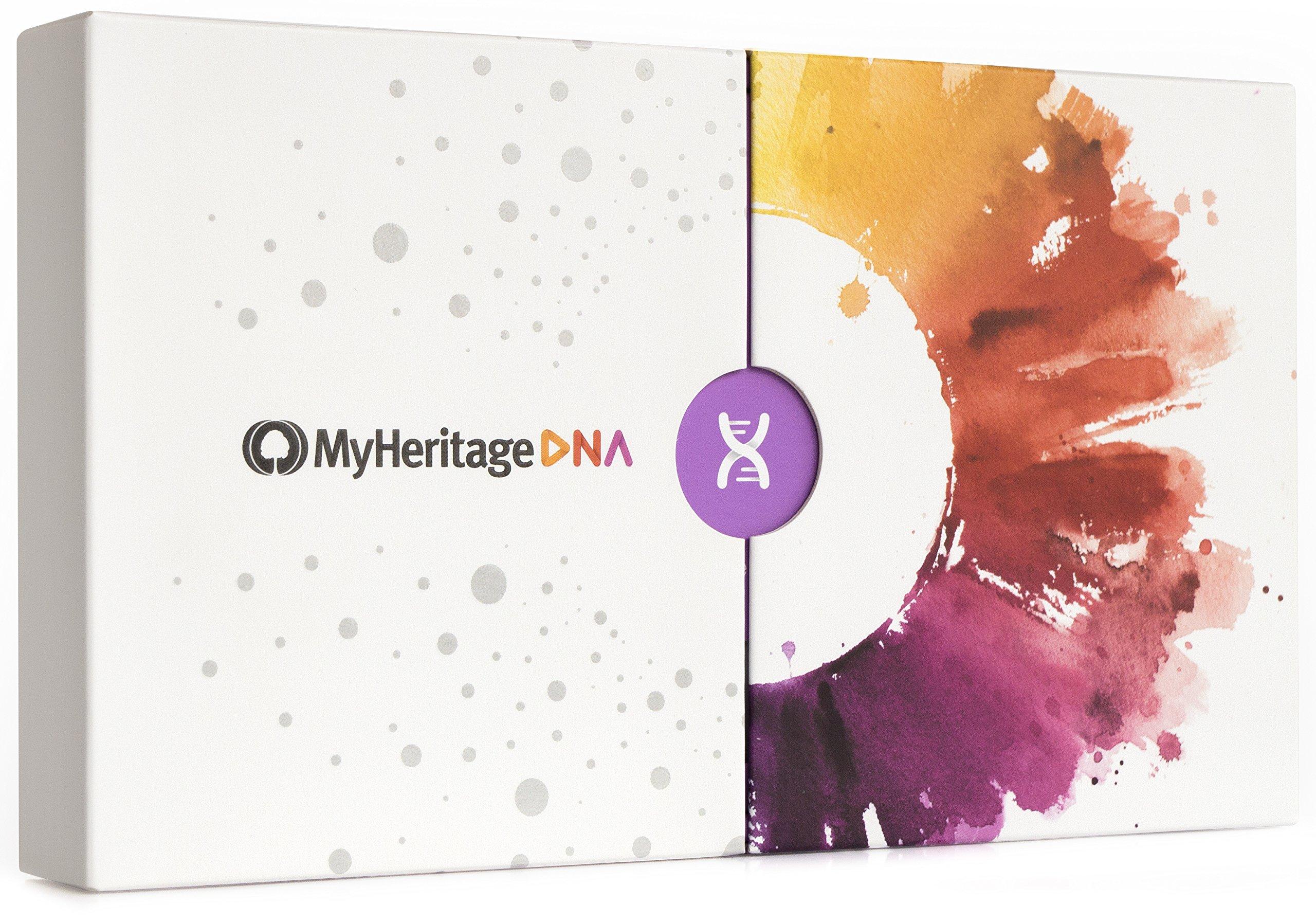 Amazon.com: MyHeritage DNA Test Kit - Ancestry & Ethnicity Genetic ...