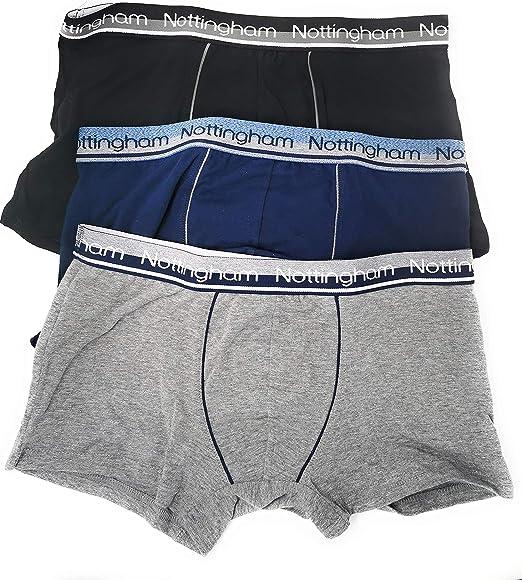 Nottingham Calzoncillos bóxer para Hombre de algodón, diseño de Moda, 6 Unidades: Amazon.es: Ropa y accesorios