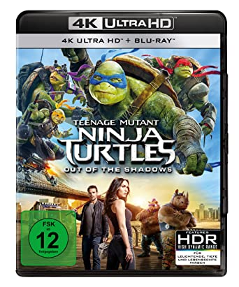 Teenage Mutant Ninja Turtles - Out of the Shadows 4K Ultra ...