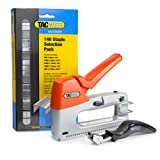 Tacwise Heavy Duty Z3-140 Staple Gun & 140 Staples Selection Pack and Remover Kit