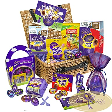 Cadbury easter sharing basket amazon grocery cadbury easter sharing basket negle Images