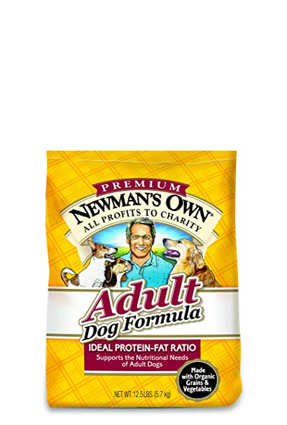 Newmans Own organic Dog Adult Chicken Rice Form Organic 12.5 lb