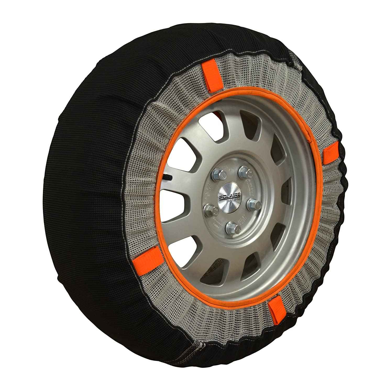 Chaussettes neige textile pneus 195/55R15 Polaire