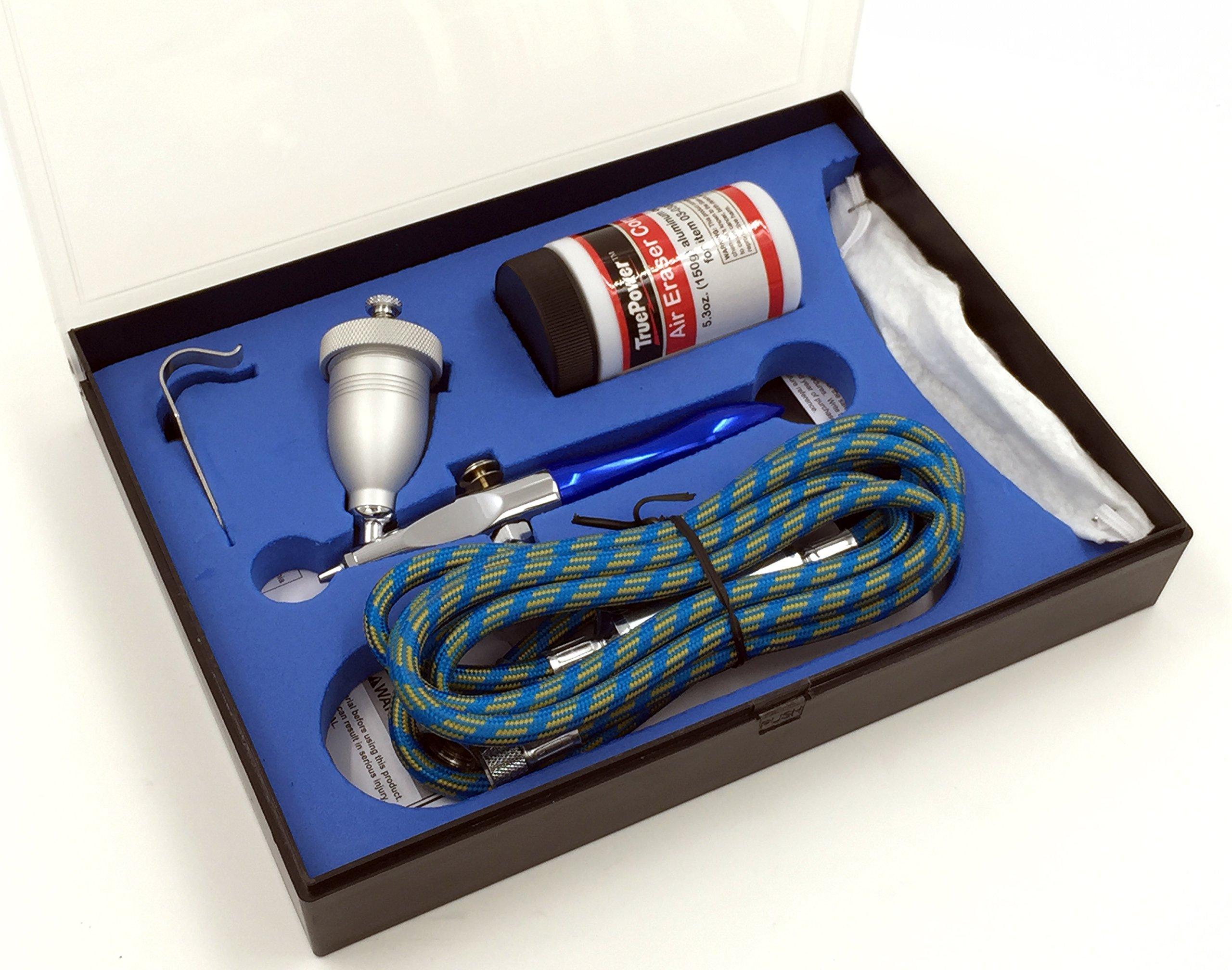 TruePower Air Eraser, Airbrush Sandblaster, Abrasive Sprayer and Glass Etcher Kit