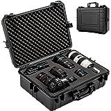 TecTake 402412 Kamerakoffer, unisversal anpassbar, wasserdicht (LxBxH): 56 x 42 x 21 cm