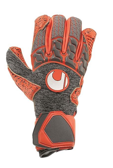 Amazon.com   uhlsport AERORED SUPERGRIP Goalkeeper Gloves Size ... 0b6d8906f