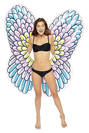 BigMouth Inc Flotador de piscina con alas de ángel: Amazon.es: Juguetes y juegos