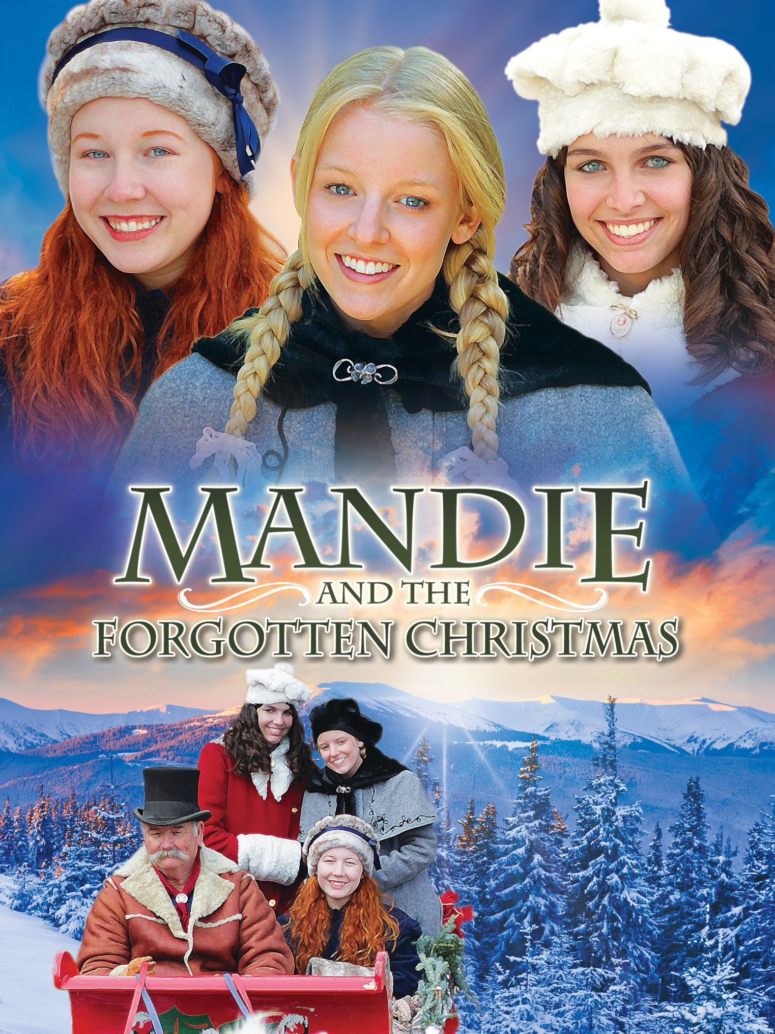 Amazon.com: Mandie And The Forgotten Christmas: Kelly Washington ...