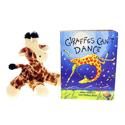 """Giraffes Can't Dance"" Book Bundle with 8"" Aurora Giraffe Stuffed Animal"