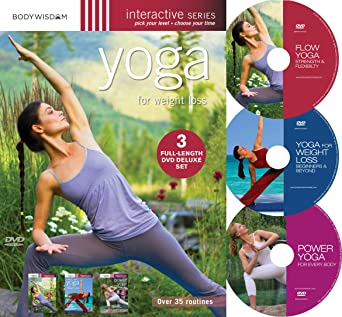 Amazon.com: Yoga for Weight Loss (Deluxe 3 DVD set with over ...