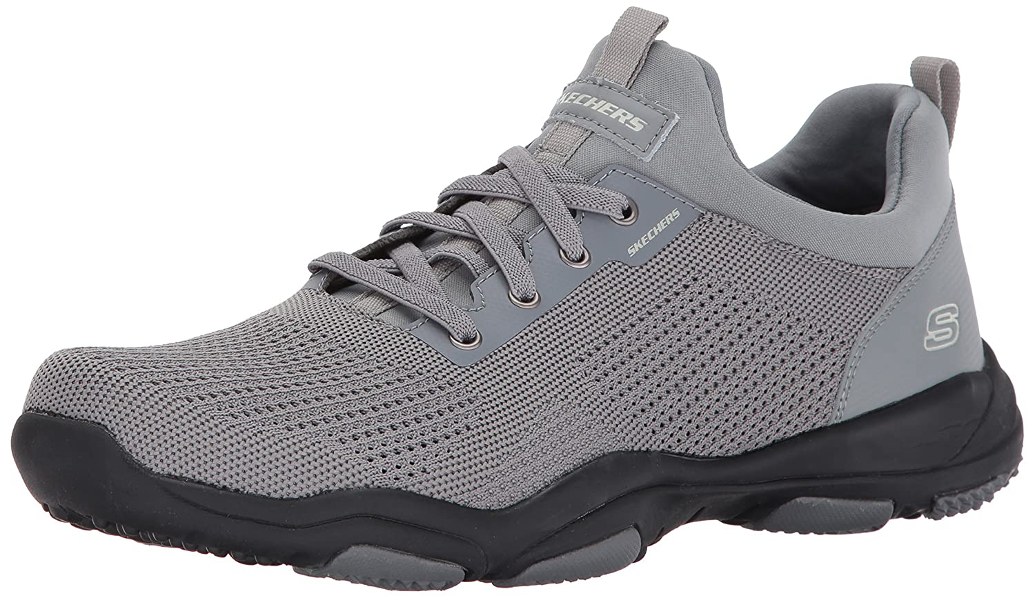 Skechers USA Mens Larson Norven Oxford  11.5 D(M) US|Gray