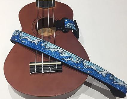 Amazoncom Master Strap Ukulele Strap Beach Wave Musical Instruments