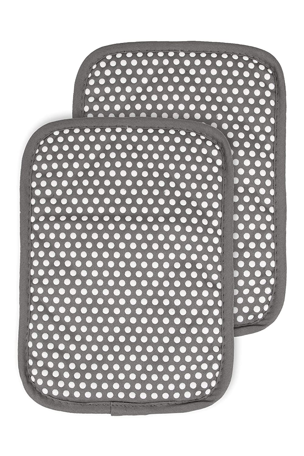 RITZ Royale 031211 Silicone Pot Holder, 2-Pack, Graphite