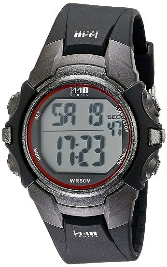Amazon.com: 1440 Reloj digital, Negro: Timex: Watches