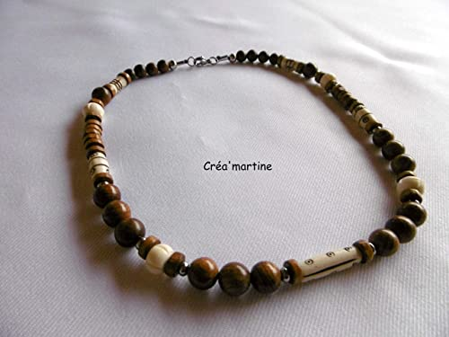 collier homme moderne