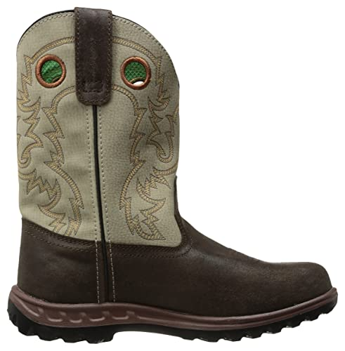Amazon.com: John Deere Kids jd3417 Western Boot: Shoes