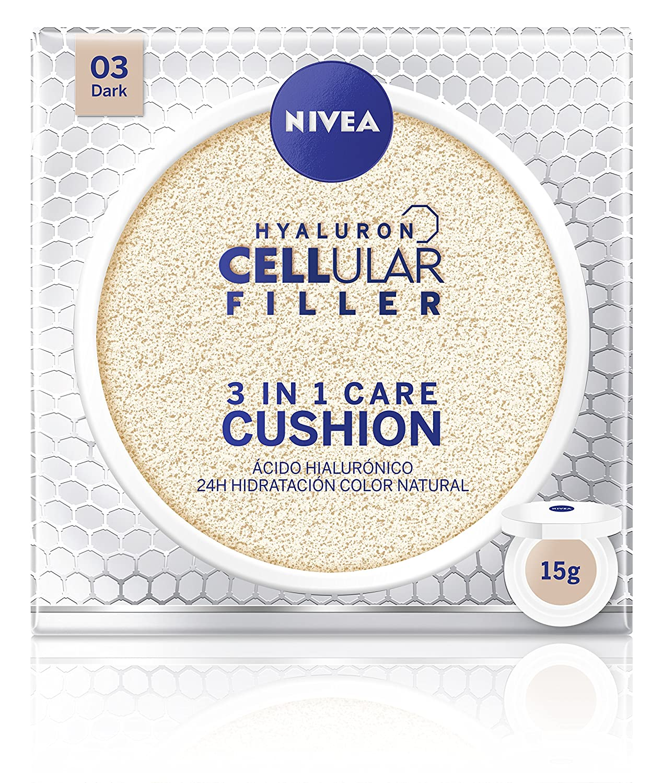 Nivea Cellular Cushion 3 en 1 Base Tono Medio - 15 ml Beiersdorf 84229