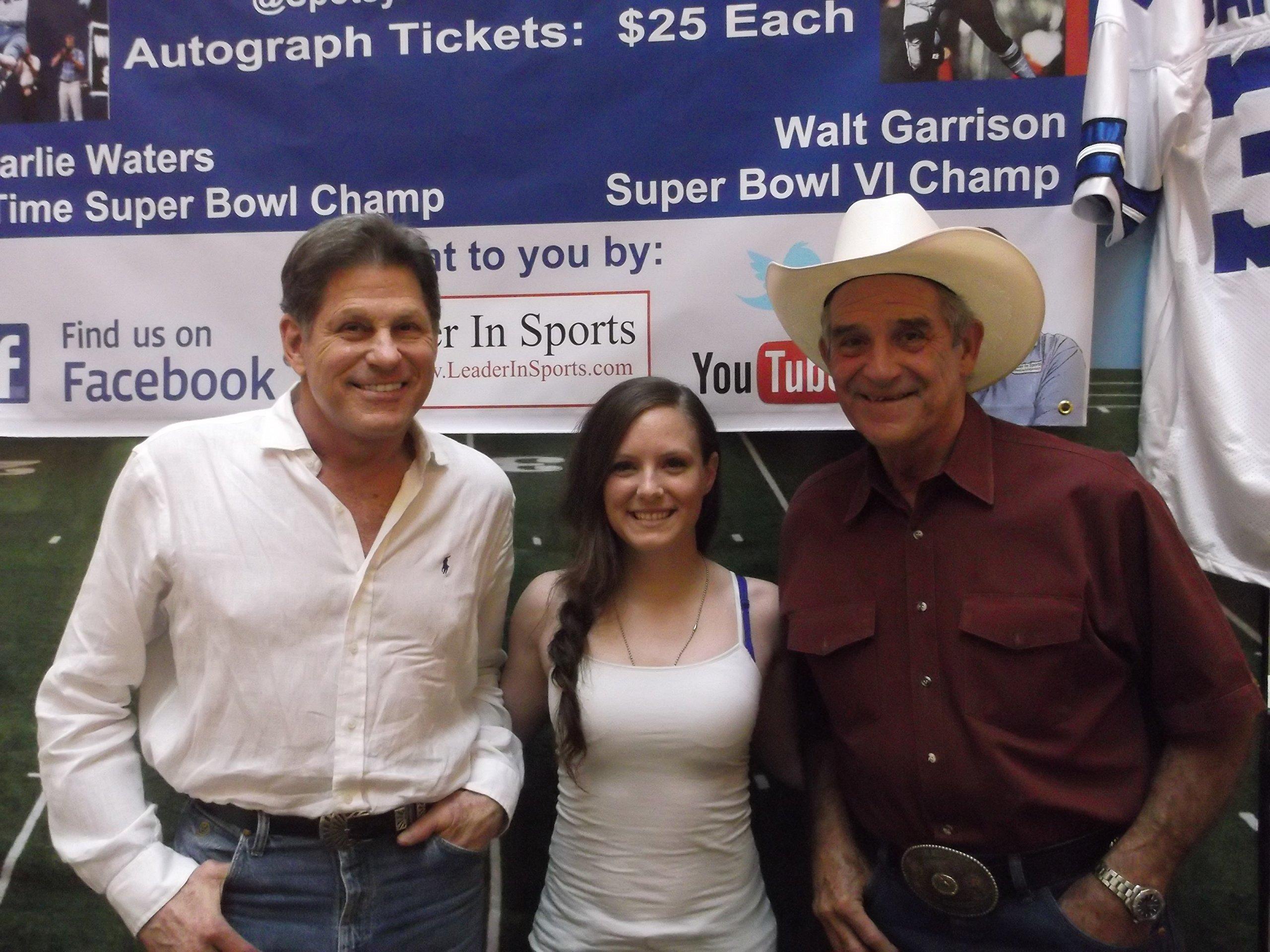 Walt Garrison Signed Custom Jersey Dallas Cowboys Super Bowl VI Champs Inscription