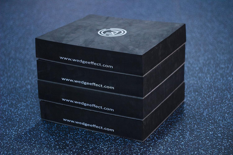 tragbar Schwarz Wedge Effect Keil,/ 4/St/ück /Schaumstoff Weich stapelbar 7,6/cm Plyo Box f/ür PLYOMETRIC und Springen /Übungen und Kondition Rutschfester best/ändig Griff unten sicherer Design