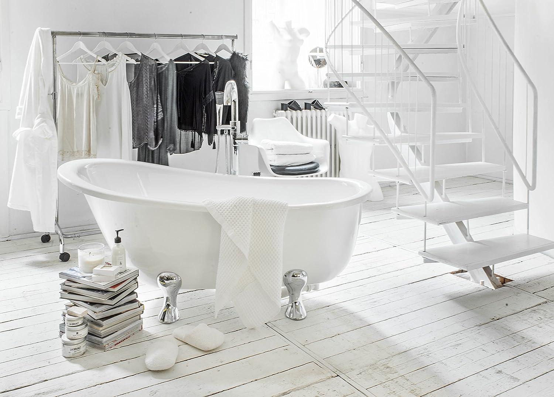 Vasca Da Bagno Con Piedini : Vasca da bagno con piedini quasar: amazon.it: casa e cucina