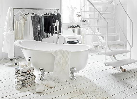 Vasche Da Bagno Con Piedini Prezzi : Vasca da bagno con piedini quasar: amazon.it: casa e cucina