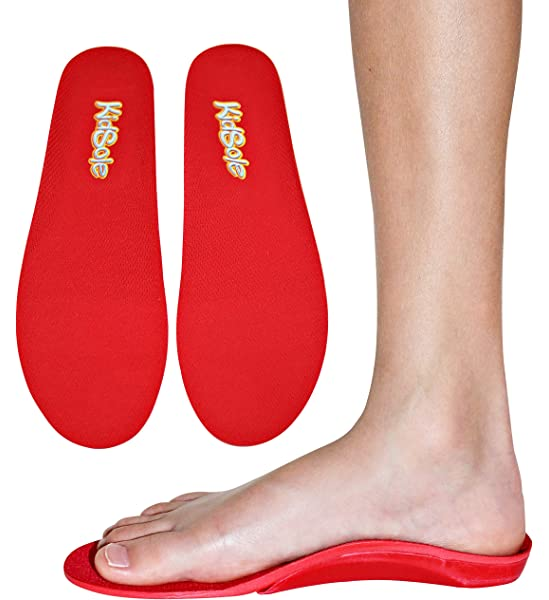 Red Orthotic Sports Insole by KidSole