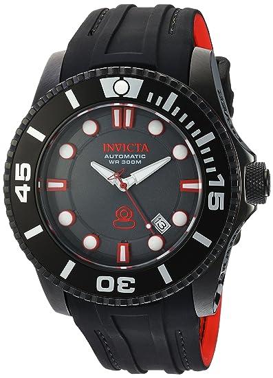 Invicta 20205 - Reloj de Pulsera Hombre, Silicona, Color ...