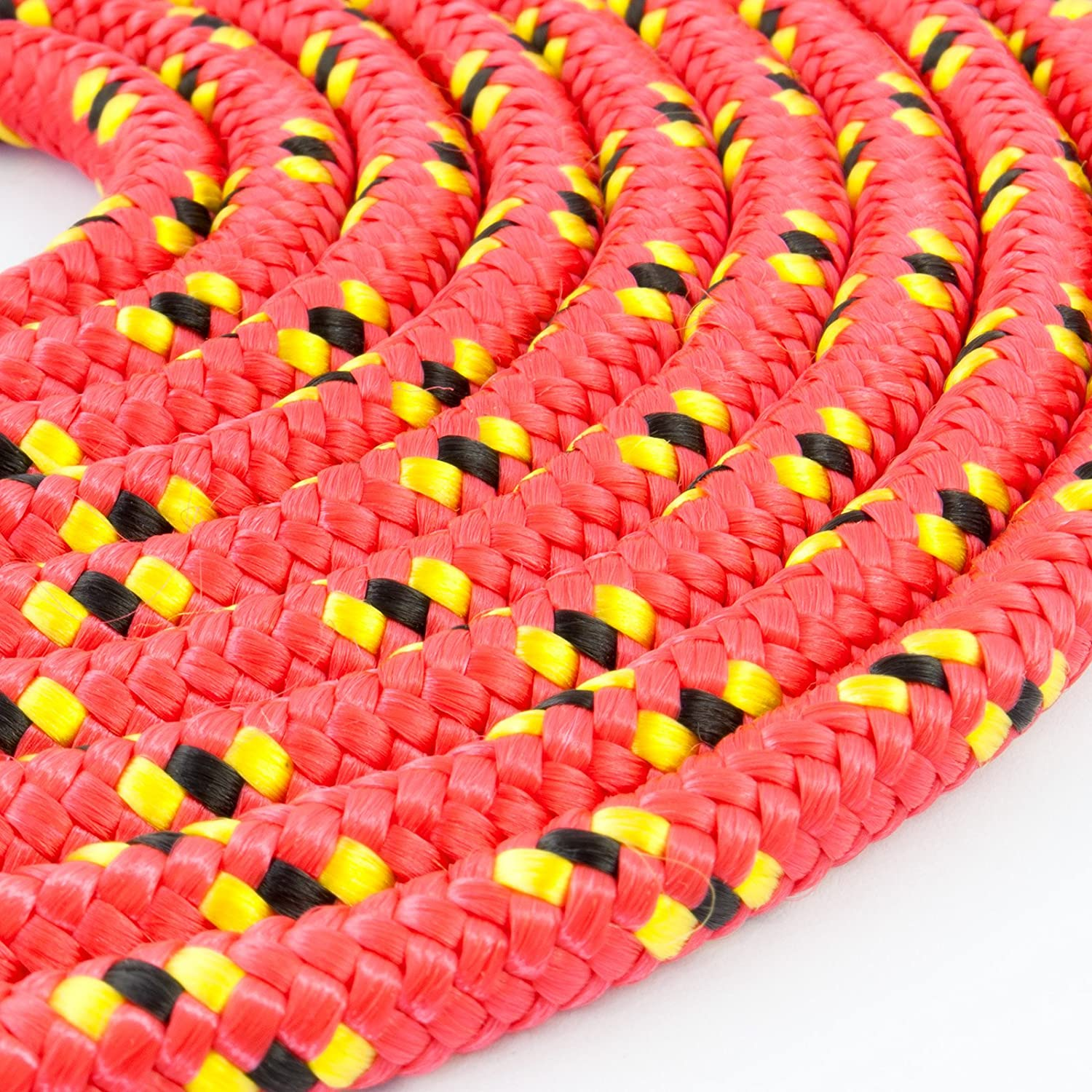 50m orange polypropylene rope poly cord 3mm