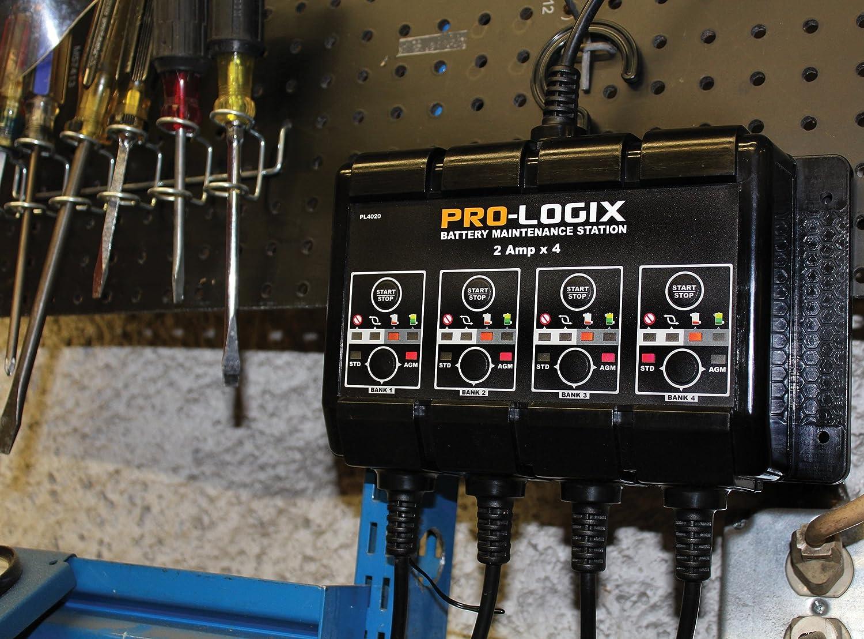 Clore Automotive PL4020 12v 2a 4-bank Solar Pro-logix Battery Charger