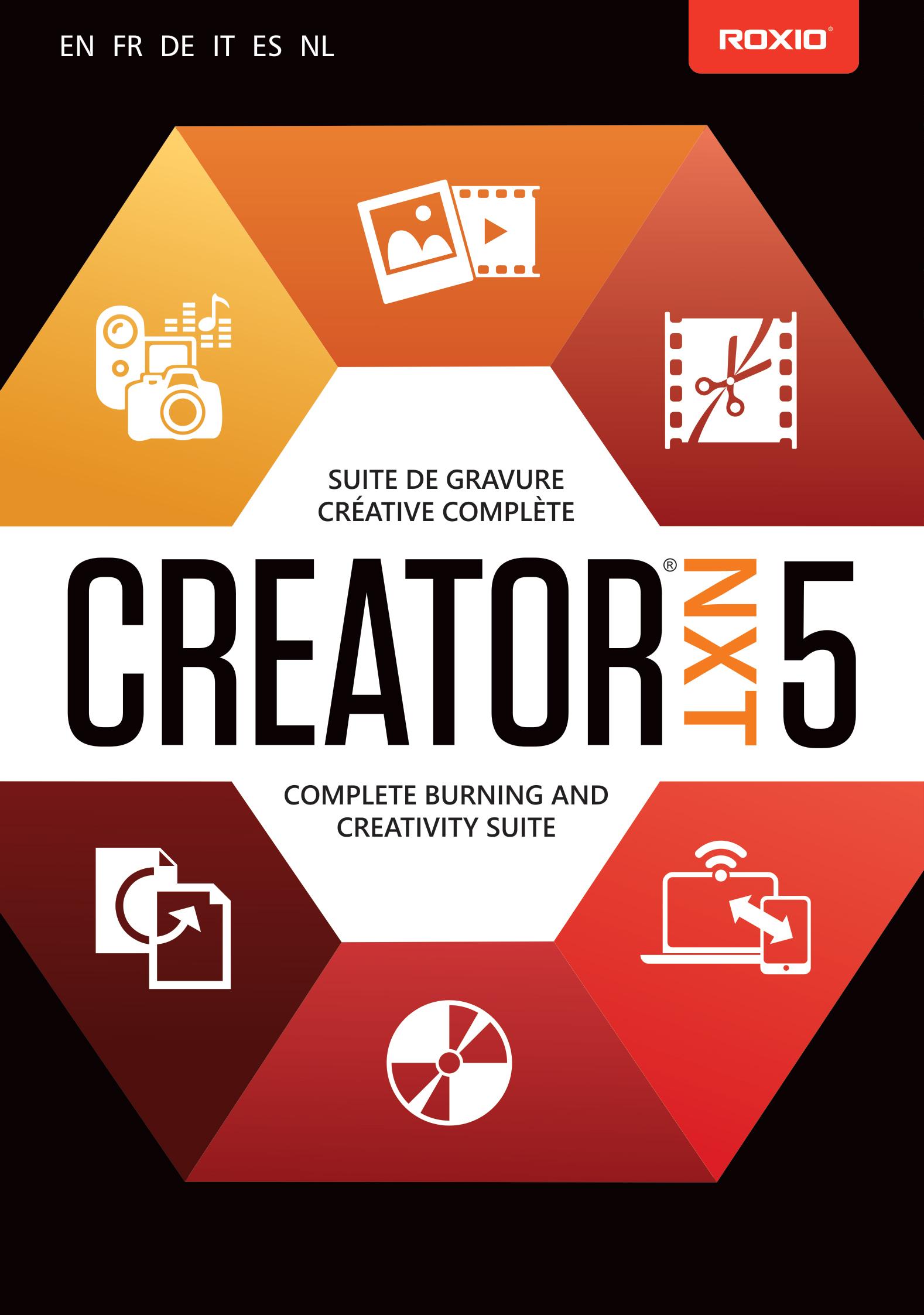 Roxio Creator NXT 5 [Download]