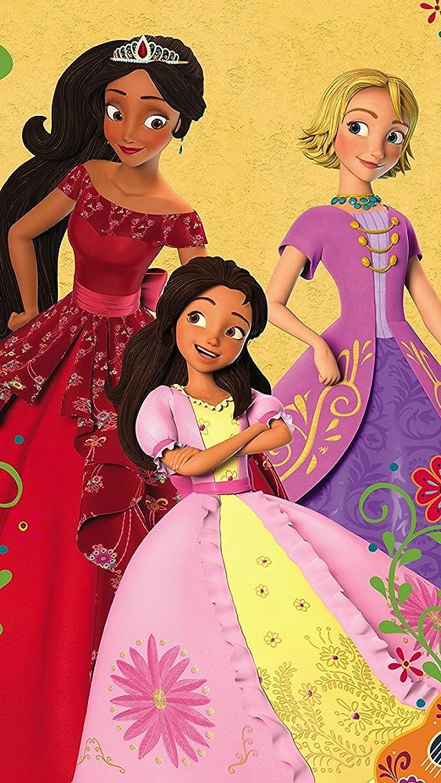 ディズニー 『アバローのプリンセス エレナ』エレナ,イザベル,ナオミ iPhoneSE/5s/5c/5(640×1136)壁紙画像