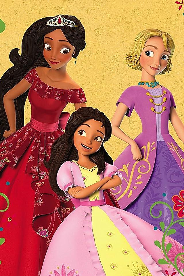 ディズニー 『アバローのプリンセス エレナ』エレナ,イザベル,ナオミ iPhone(640×960)壁紙画像