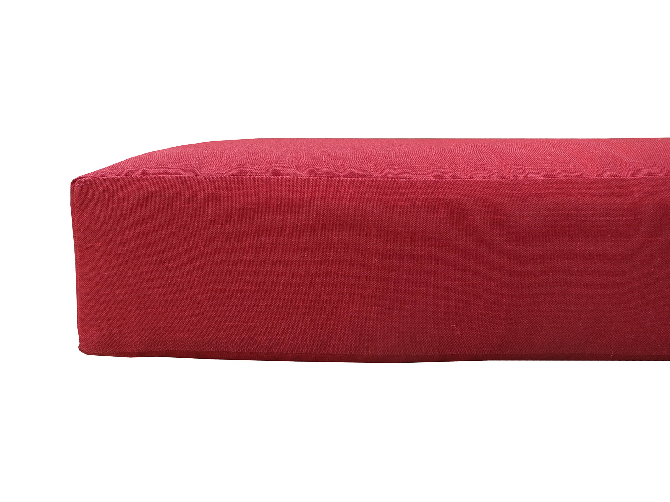 Bossima Indoor/Outdoor Rust Red Deep Seat Chair Cushion