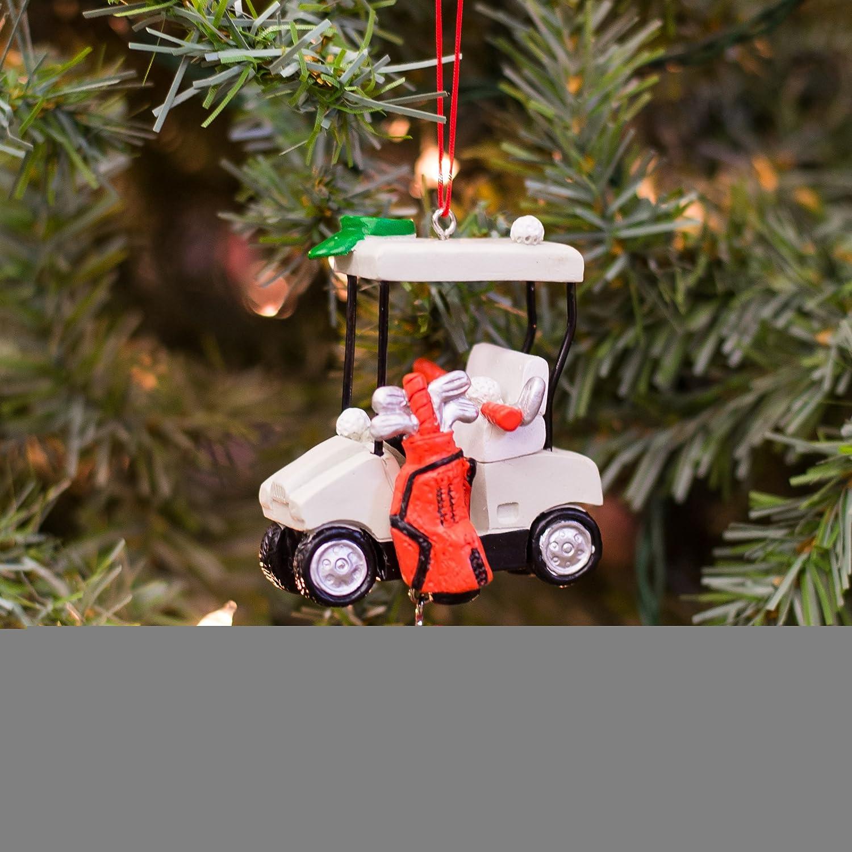 Amazon JWM Golf Cart I Heart Golf Christmas Holiday
