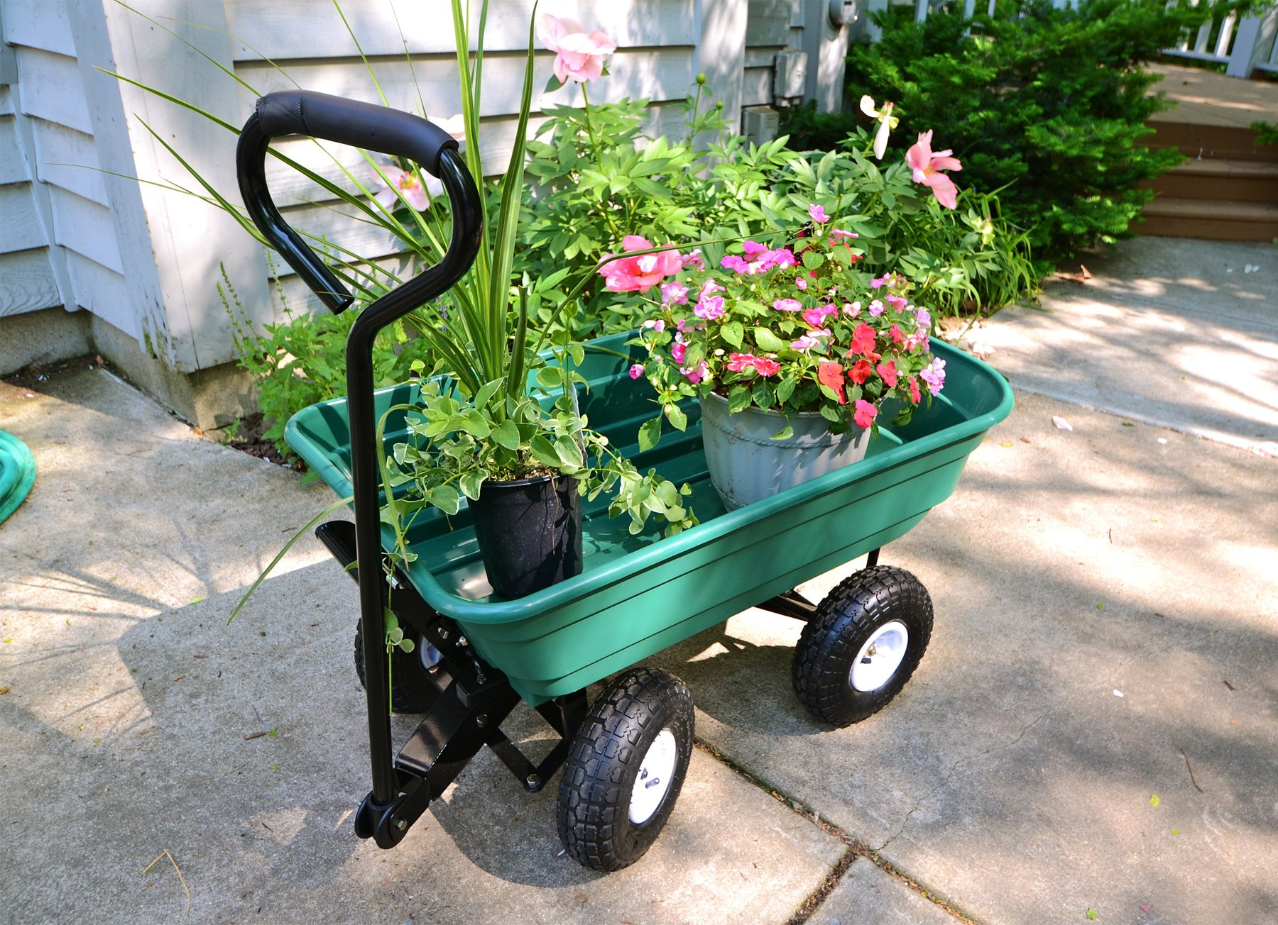 Precision LC2000 Capacity Mighty Garden Yard Cart, 600-Pound by Unknown (Image #4)