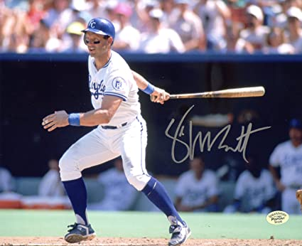 low priced ef332 0a13c George Brett Kansas City Royals Signed Autographed 8
