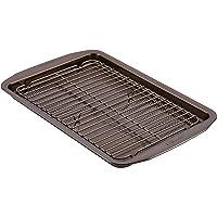 Circulon 47186 Nonstick Bakeware Cookie Pan Set, 2 Piece, Chocolate
