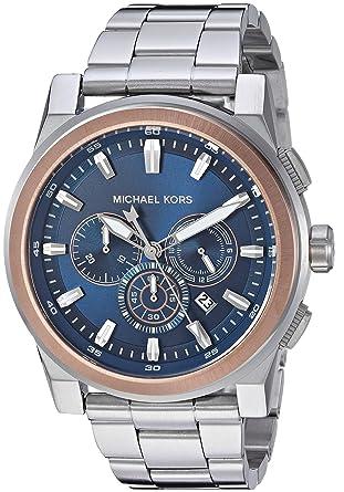 a3433f89d1b3 Michael Kors Men s Grayson Analog-Quartz Watch with Stainless-Steel Strap