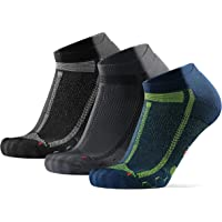 Calcetines Cortos de Running Largas Distancias, para Hombre y Mujer, Acolchados, Transpirables, Calcetines de Atletismo…