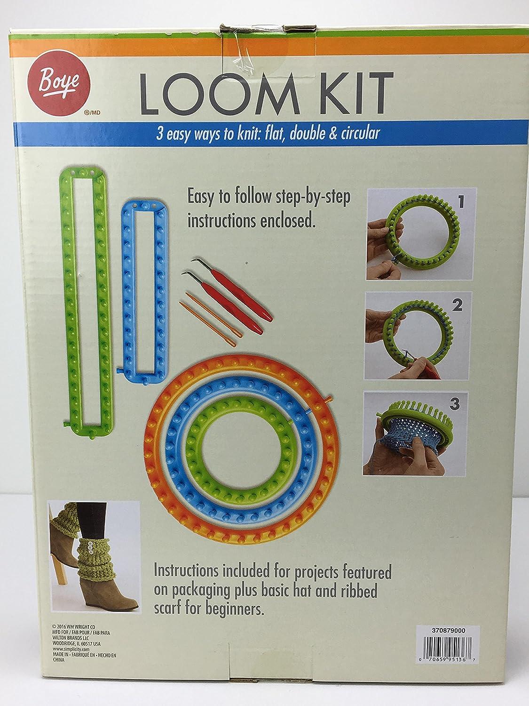 5 Looms Deluxe Boye Loom Kit