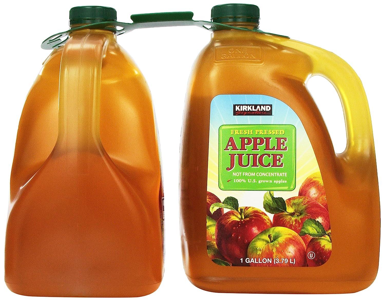 Kirkland Signature Apple Juice, Original, 256 Fluid Ounce