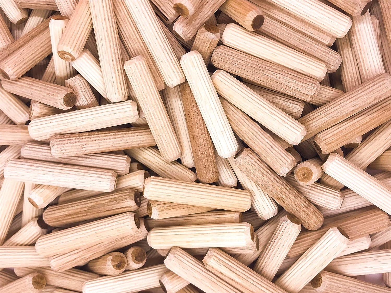 8 x 40 Holzd/übel Holzverbindung M/öbel D/übel Buche x100