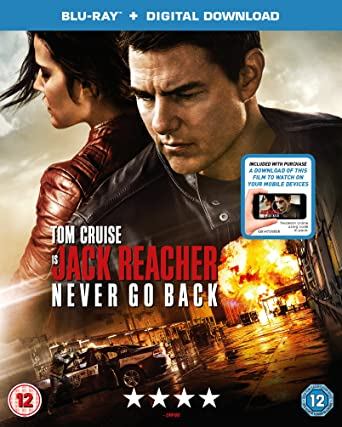 Image result for jack reacher never go back blu-ray
