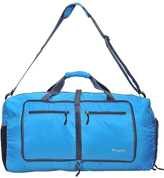 d1087cbfdf Gonex 60L Foldable Travel Duffel Bag Water   Tear Resistant 10 Color  Choices Gym Sport Camping Storage
